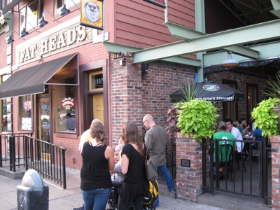 Fat Head's Patio and Front Sign