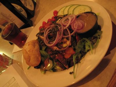 Grilled Veggie Salad @ Piper's Pub
