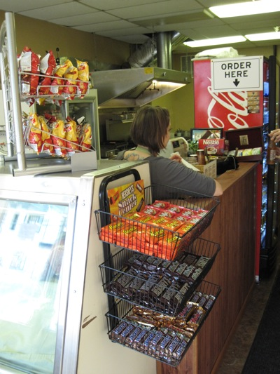 Cashier and Candy