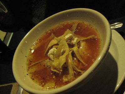 Chicken Tortilla Soup @ Fajita Grill